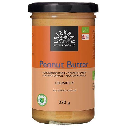 Urtekram Food Ekologiskt Jordnötssmör Crunchy, 230 g