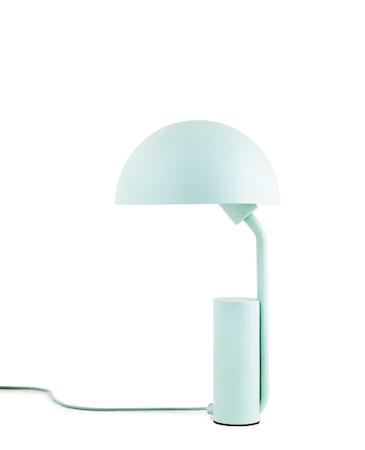 Cap Bordlampe Lyseblå