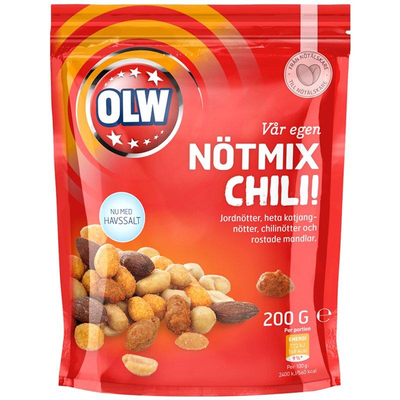Chilipähkinäsekoitus 200g - 50% alennus
