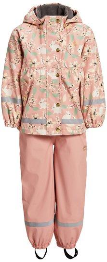 Petite Chérie Amira Foret Regnsett, Rabbitland Pink, 80