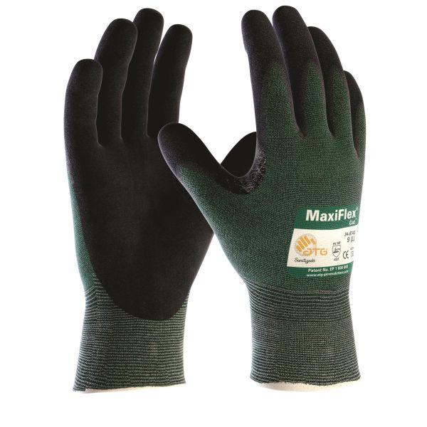 ATG MaxiFlex CUT Käsineet Viiltosuoja, vaahtokuminitriili Koko 7