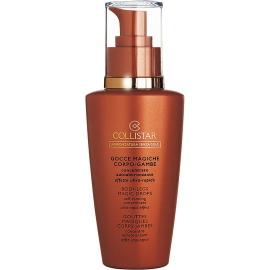 Collistar Magic Drops for Body & Legs Self Tanning Concentrate, 125 ml Collistar Itseruskettavat