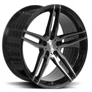 R-Series R10 Tinted Black 10.5x20 5/112 ET30 B66.6