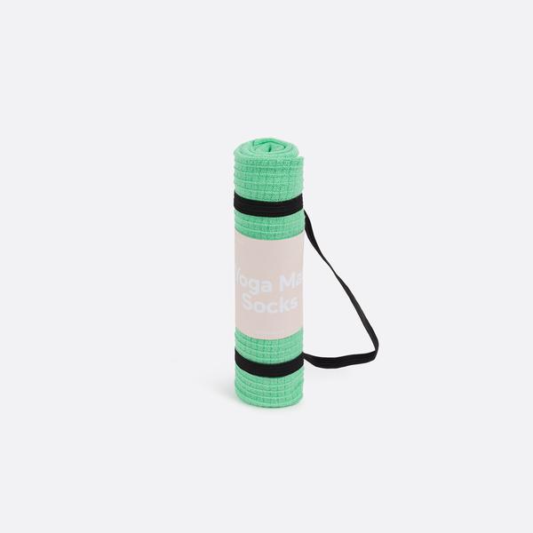 Green Yoga Mat Socks