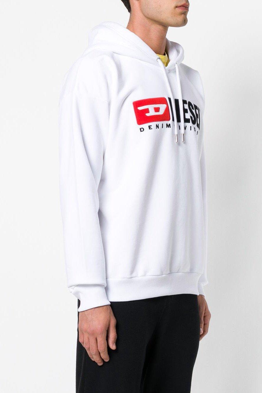 Diesel Men's Sweatshirt Various Colours 294036 - white-2 L