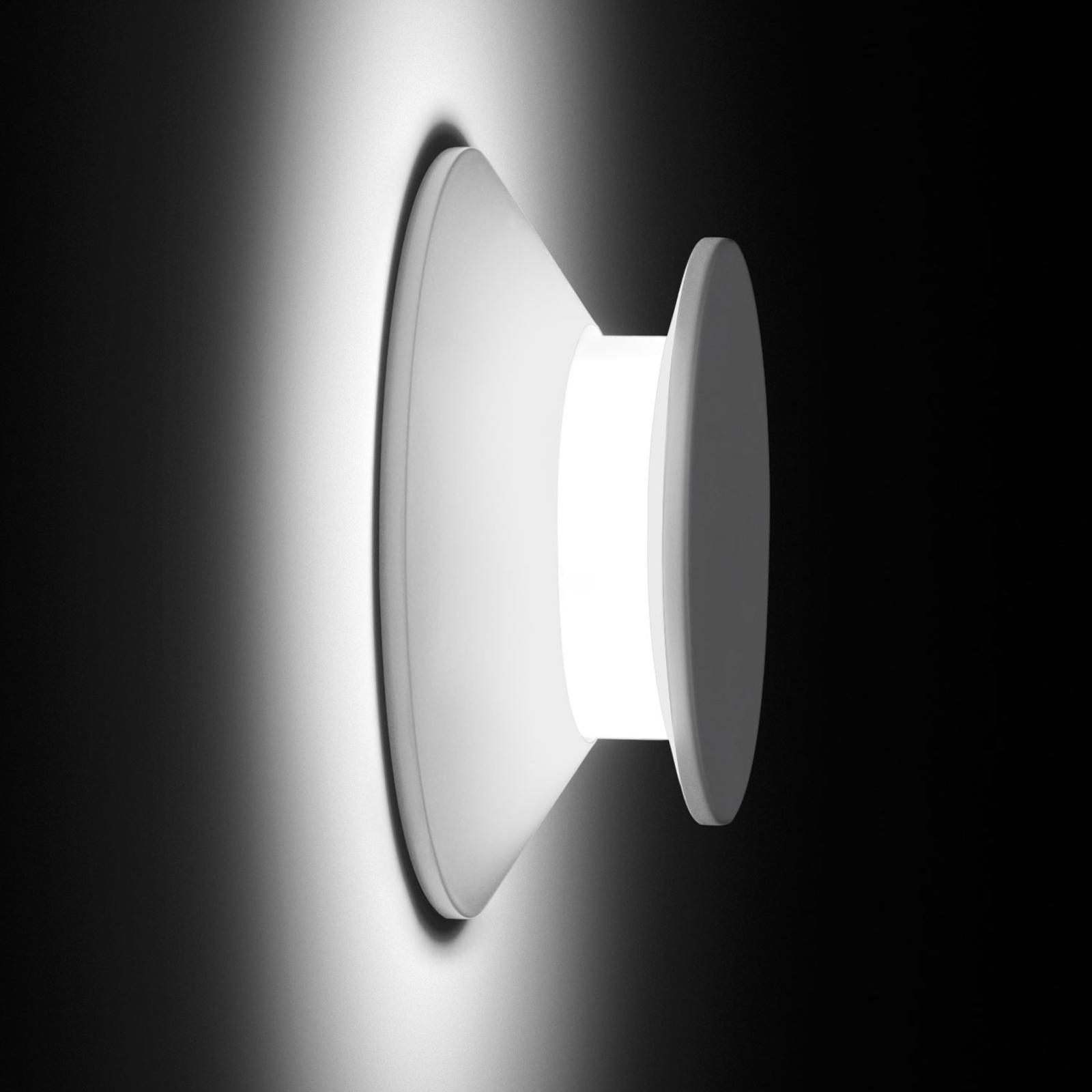 Vibia Micro 2015 LED-ulkoseinälamppu, valkoinen