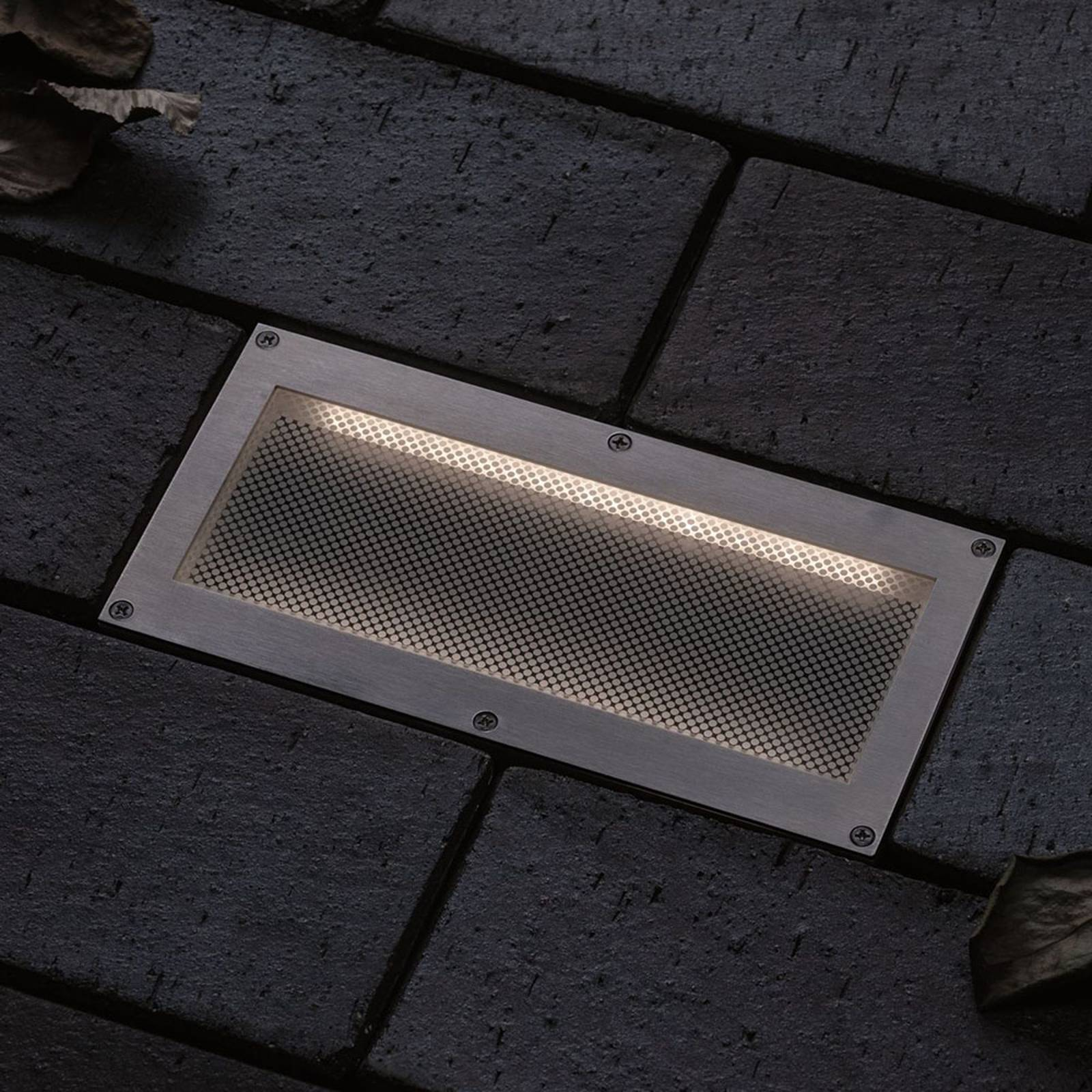 Paulmann Brick -LED-uppovalo, 10 x 20 cm