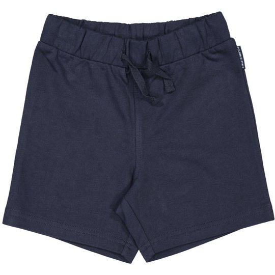 Shorts myk mørkblå