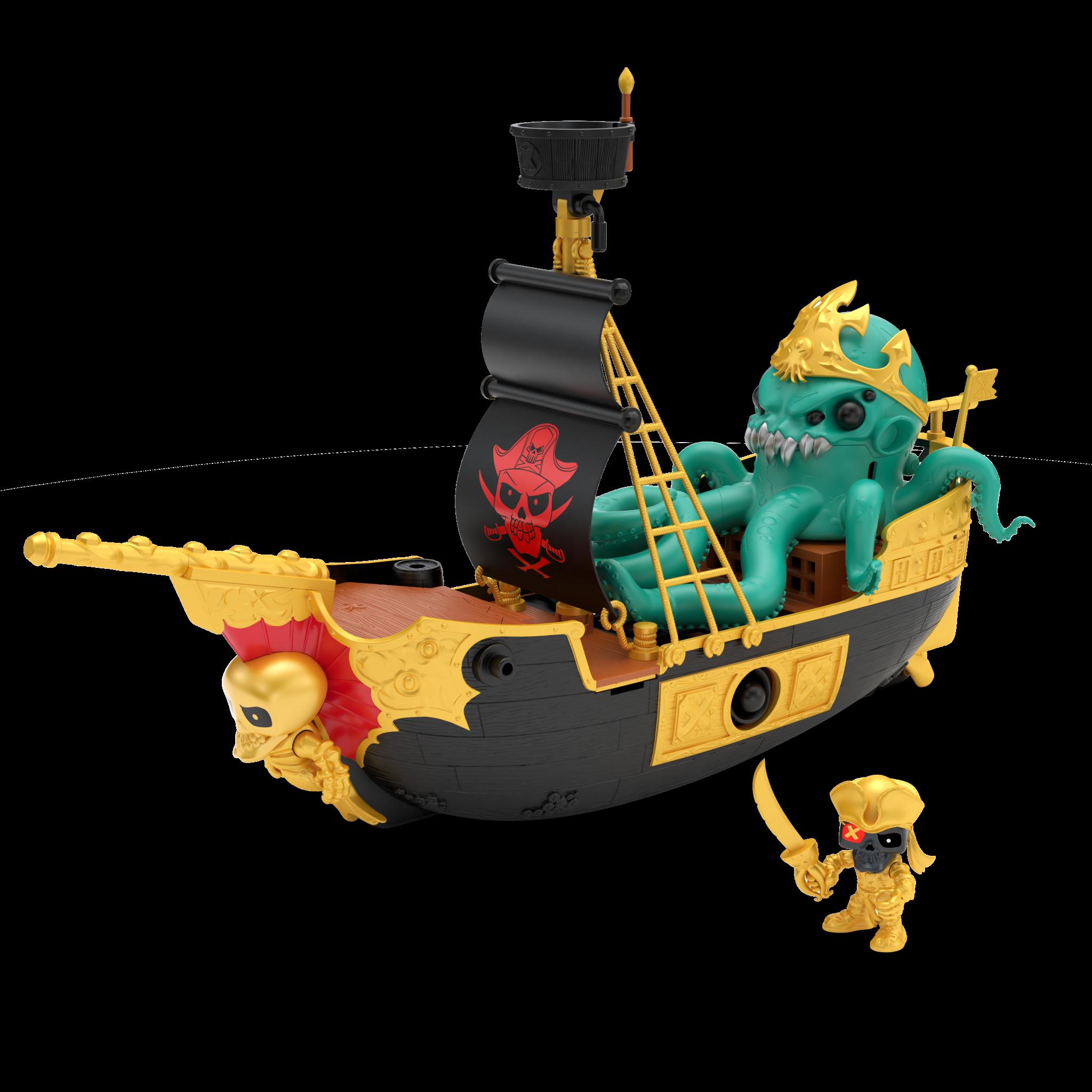 Treasure X - S5 Sunken Gold Shipwreck Playset (70-00703)