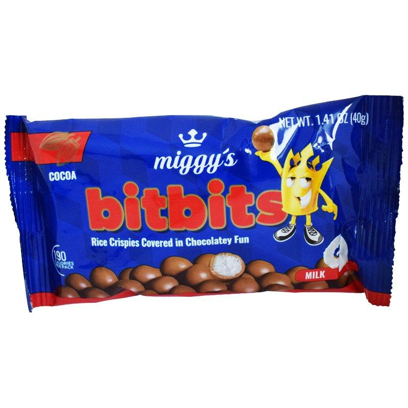 "Godis ""Bitbits Milk Chocolate"" 40g - 40% rabatt"