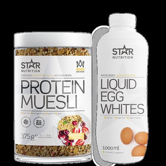 Liquid Egg Whites & Protein Muesli!