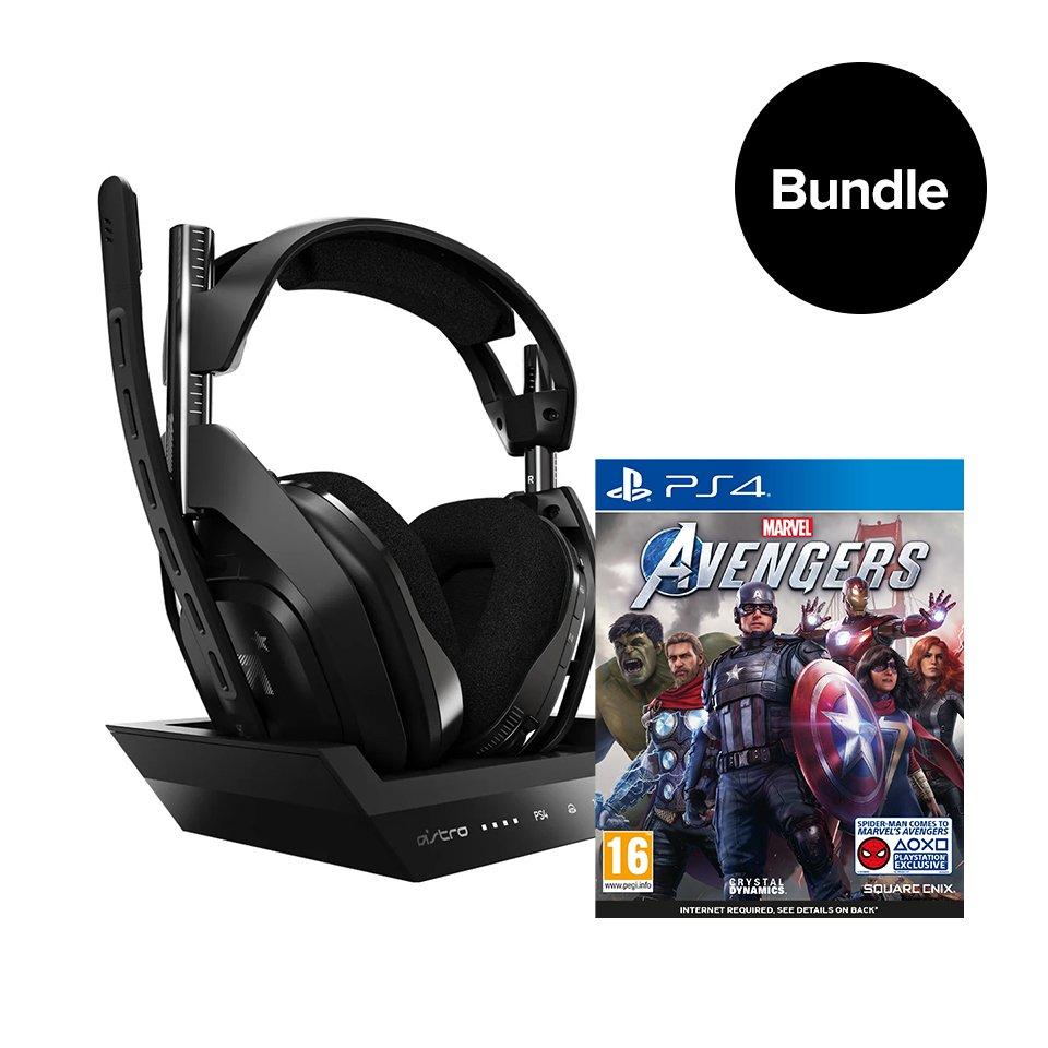 ASTRO A50 Wireless + Base Station & Marvel's Avengers - Bundle PlayStation 4/PC