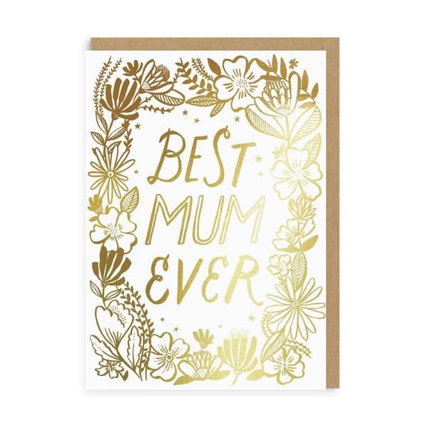 Best Mum Ever Greeting Card