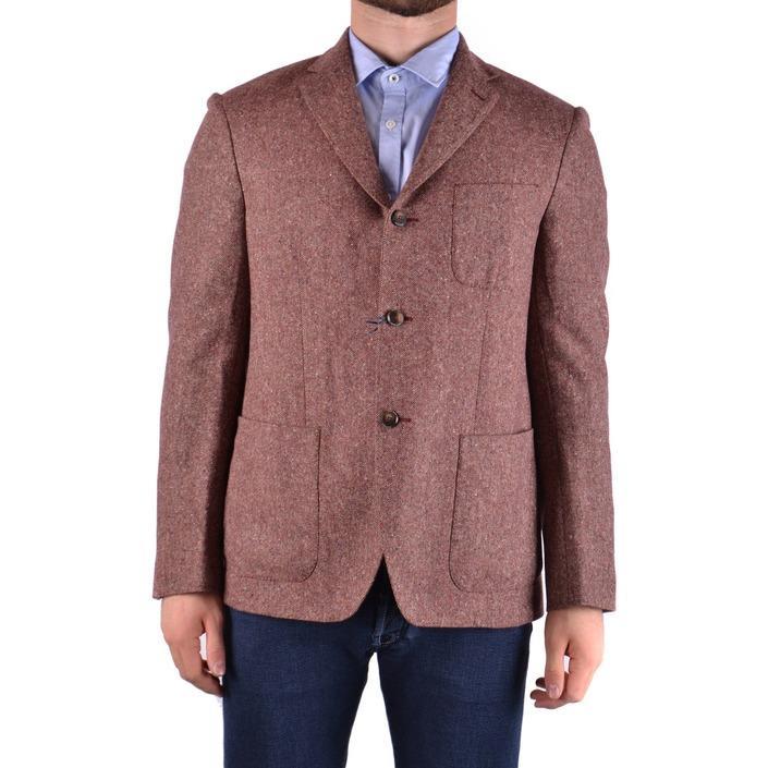 Jacob Cohen Men's Blazer Bordeaux 163029 - bordeaux 50