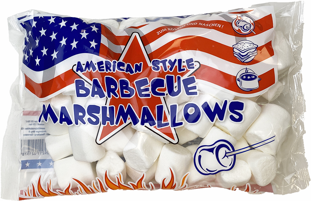 American Style Barbeque Marshmallows 300g