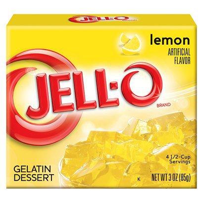 Jello Lemon 85g