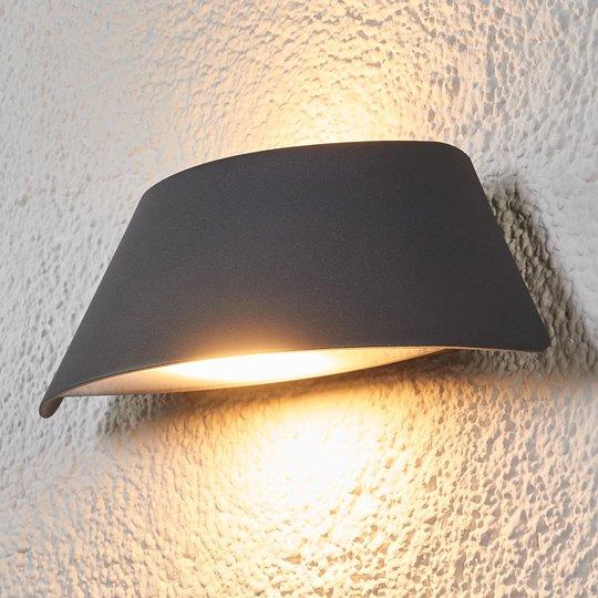 Suunnikasmainen Glen-ulkoseinävalaisin LED IP65