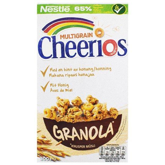 "Frukostflingor ""Cheerios Granola"" 300g - 50% rabatt"