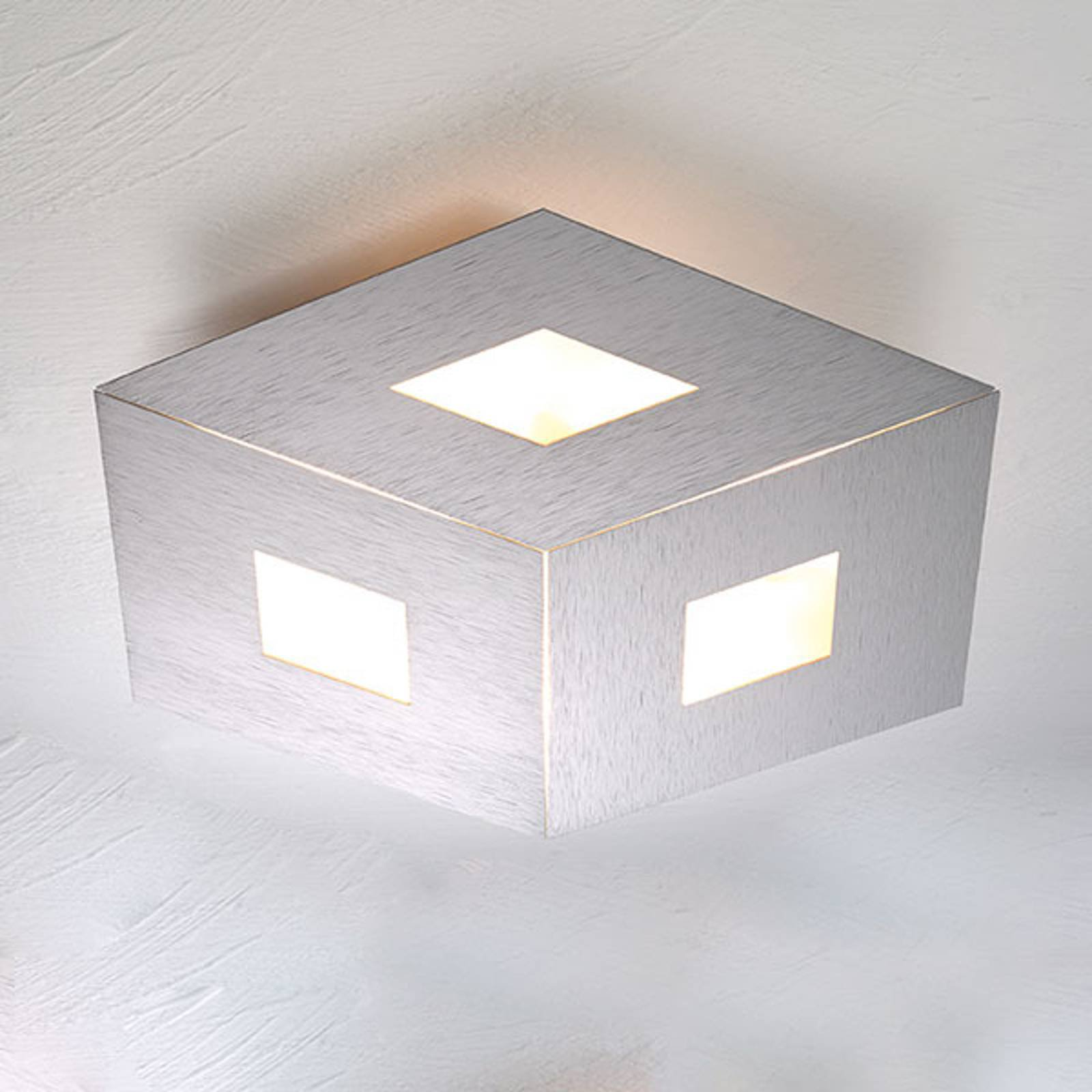 Bopp Box Comfort LED-taklampe sølv 45cm