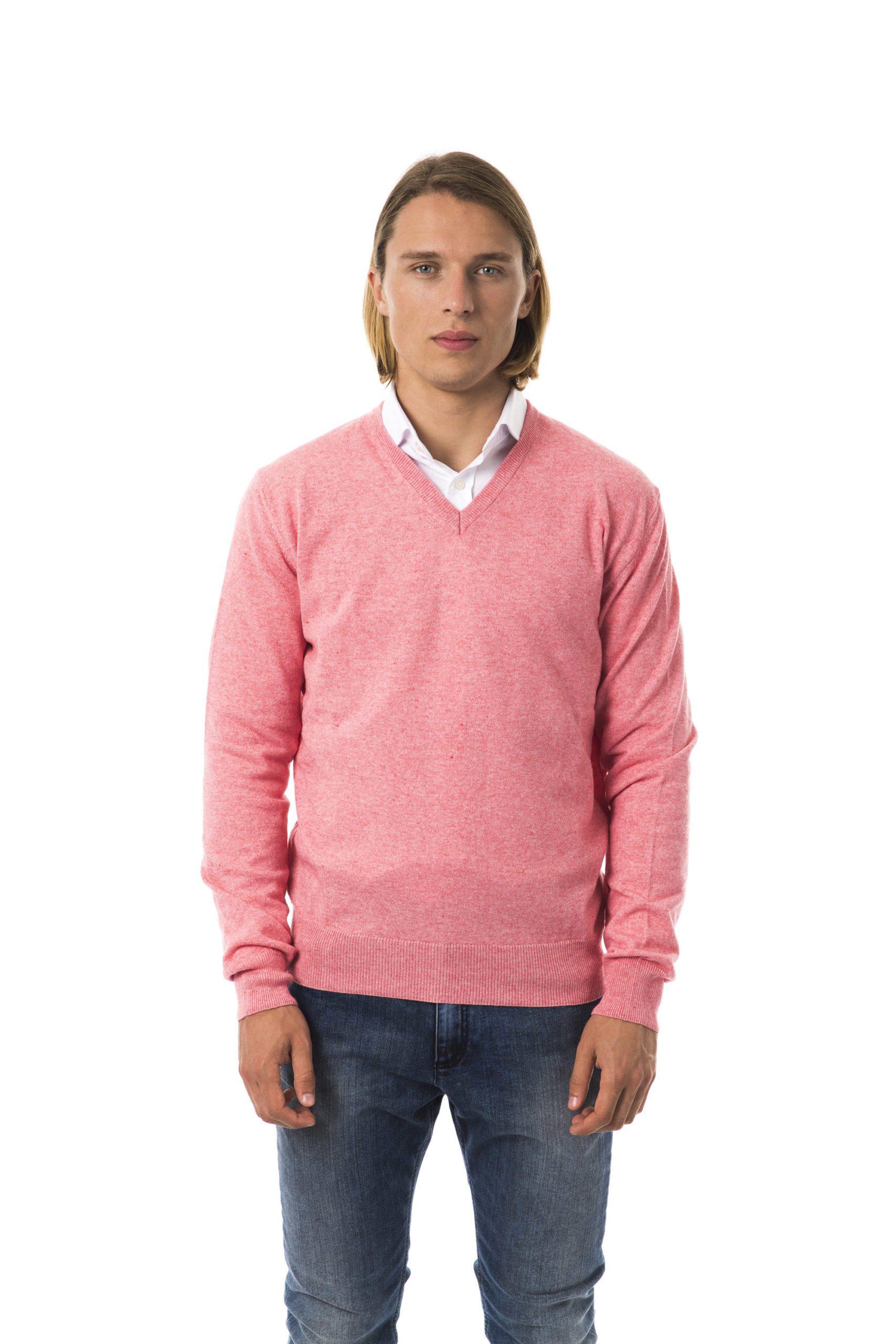 Uominitaliani Men's Corallo Sweater Pink UO817217 - M