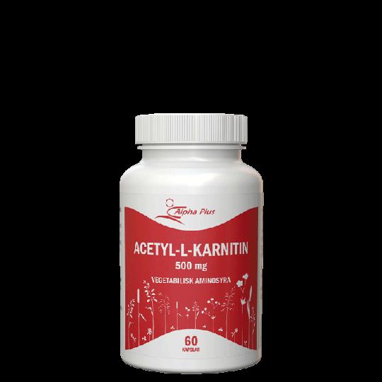 Acetyl-L-karnitin, 60 kapslar