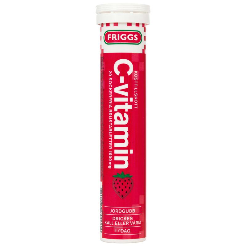 C-vitamiinipore Mansikka - 36% alennus
