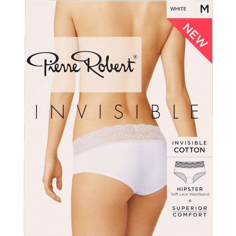 Invisible Hipster Lace Alushousut Valkoinen Koko M - 77% alennus