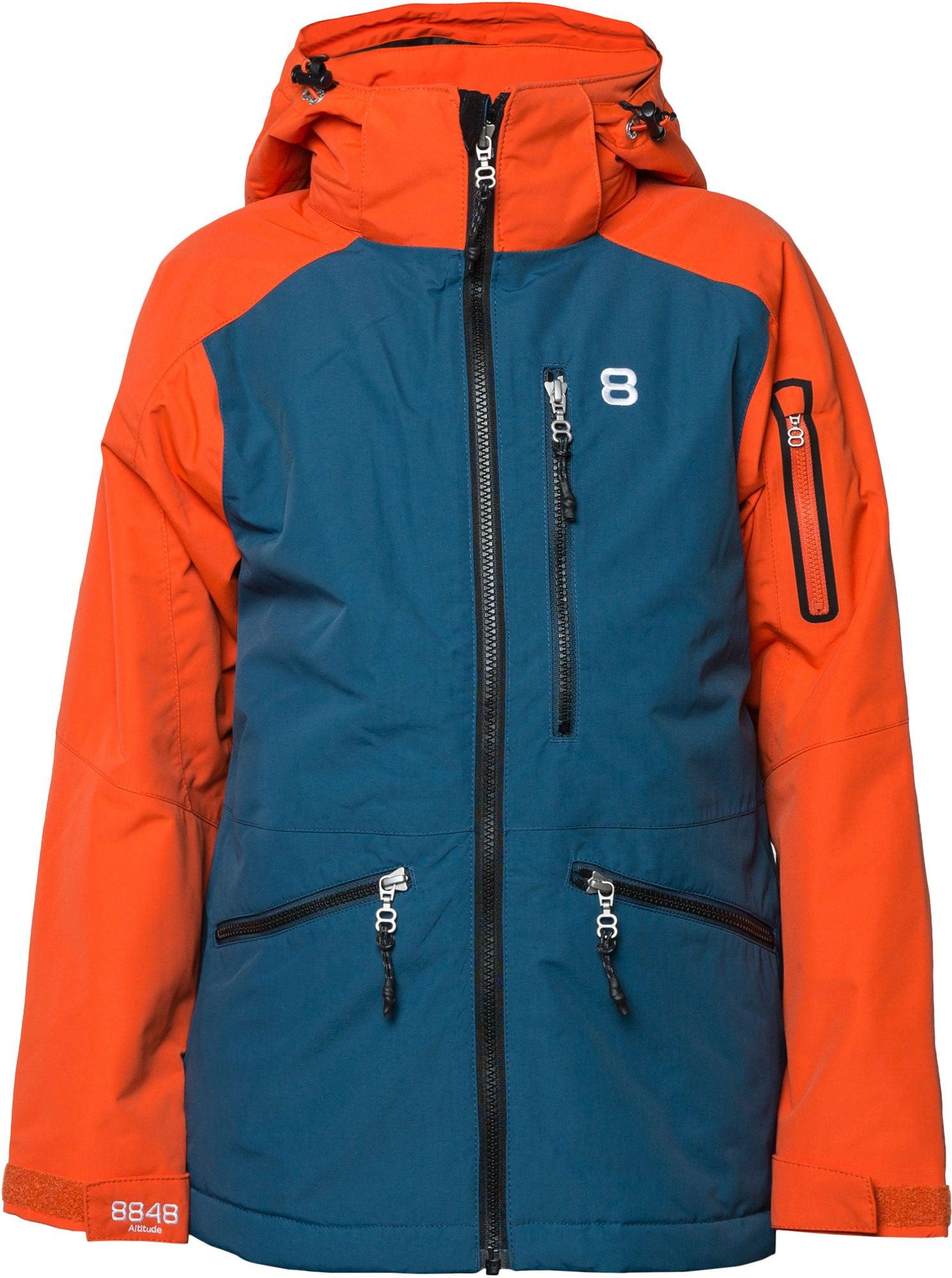 8848 Altitude Harpy Vinterjacka, Red Clay 120