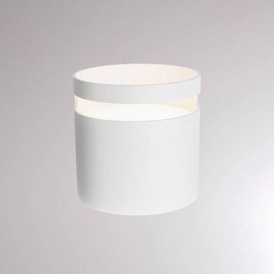 LOUM Potta LED-bordlampe hvit
