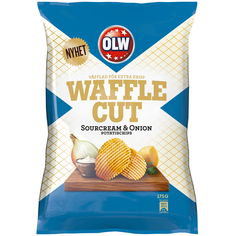 Chips Gräddfil & Lök 175g - 56% rabatt