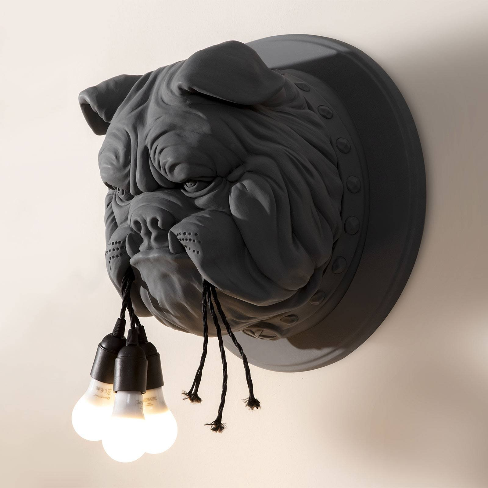 Karman Amsterdam - designer-vegglampe, grå