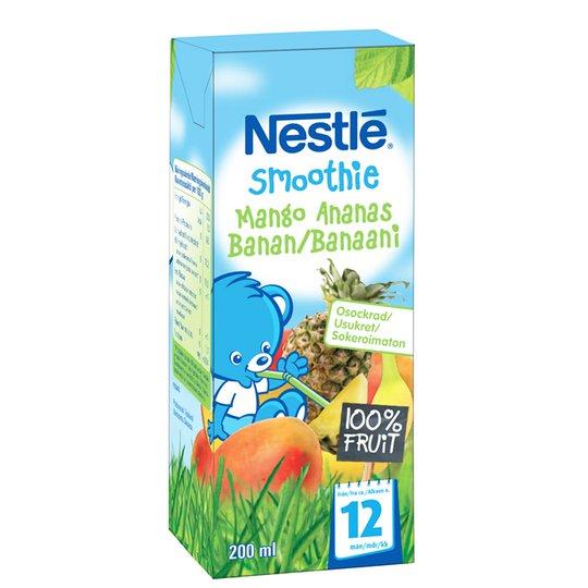 Lastenruoka Smoothie Mango & Ananas 200 ml - 28% alennus