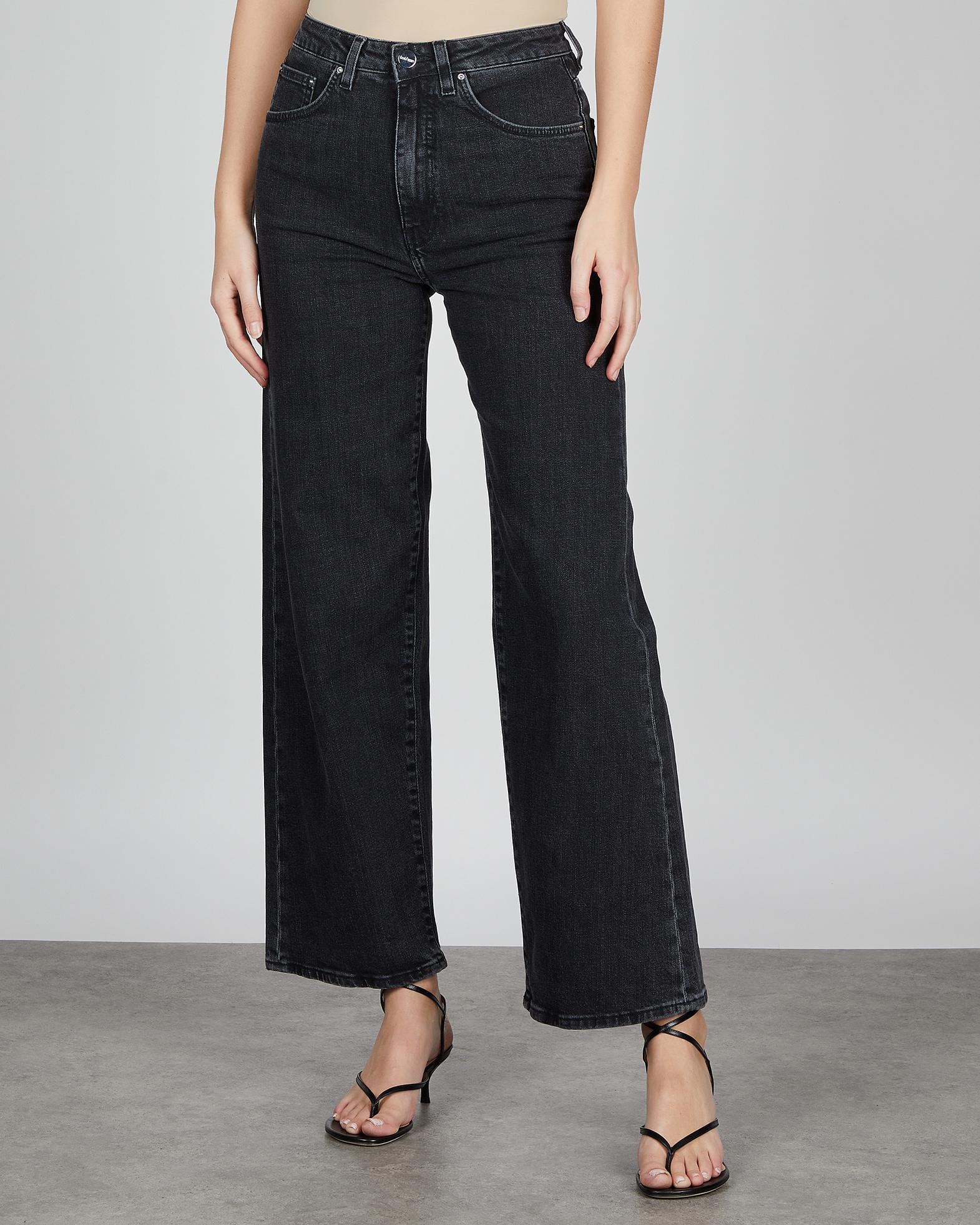 Totême Jeans Flare Fit Denim grey 23/32