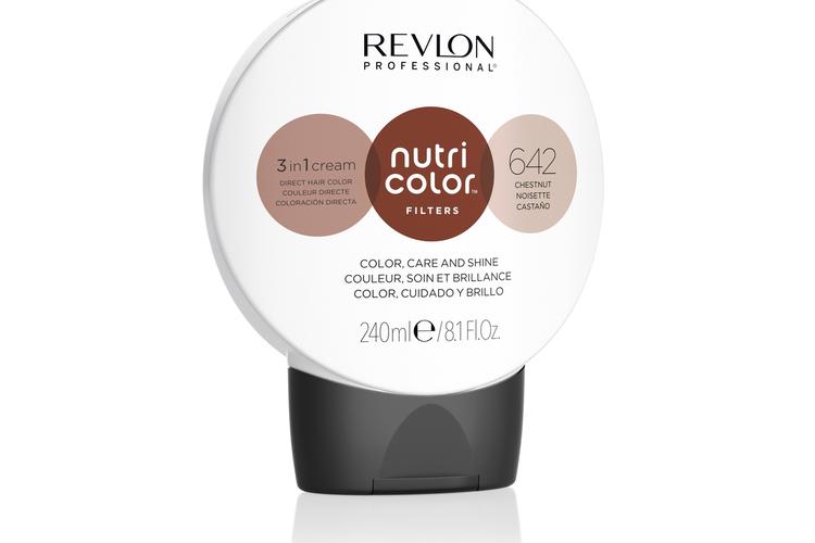 Revlon - Nutri Color Filters Toning 240 ml - 642 Chestnut