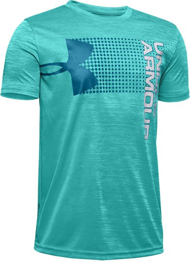 Under Armour Crossfade T-Shirt, Teal Rush M