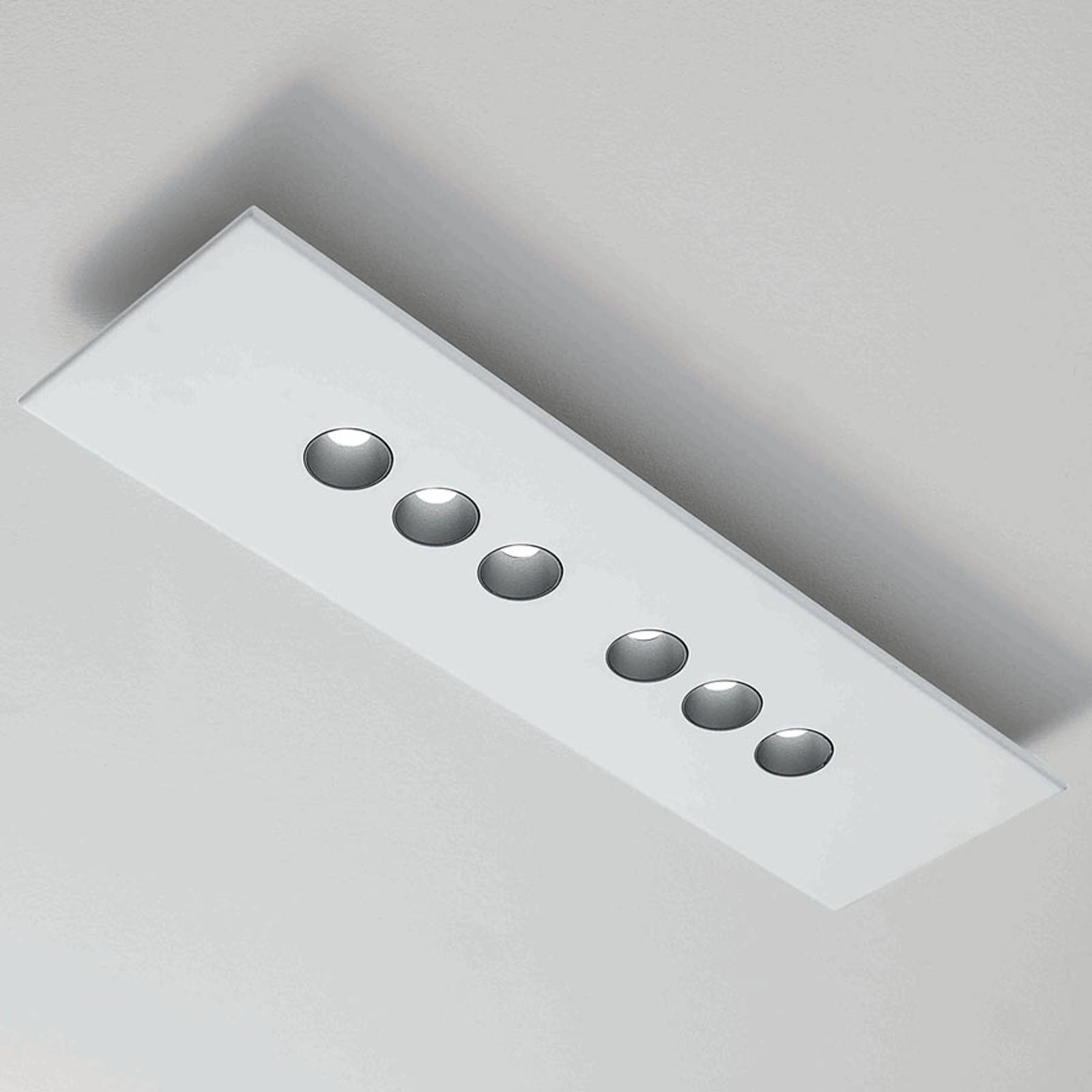 ICONE Confort -LED-kattovalaisin, valkoinen