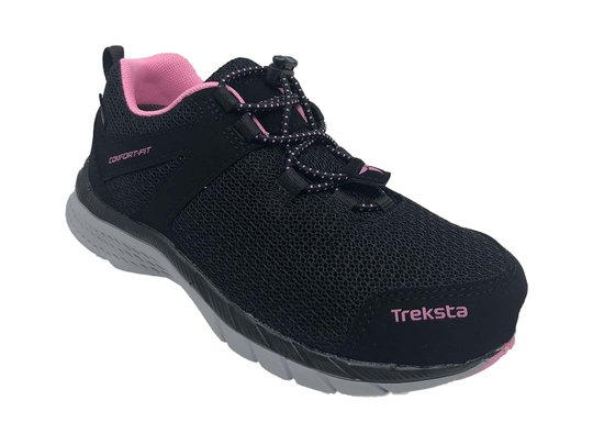 Treksta Clip GTX Sneaker, Black/Pink, 25