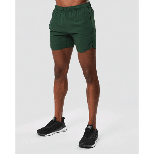 Training 15 cm Shorts, Dark Green