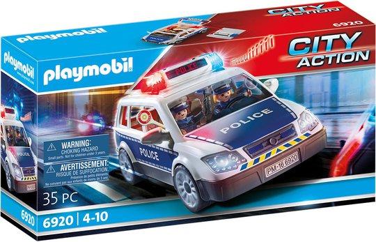 Playmobil 6920 Politibil med Lys og Lyd