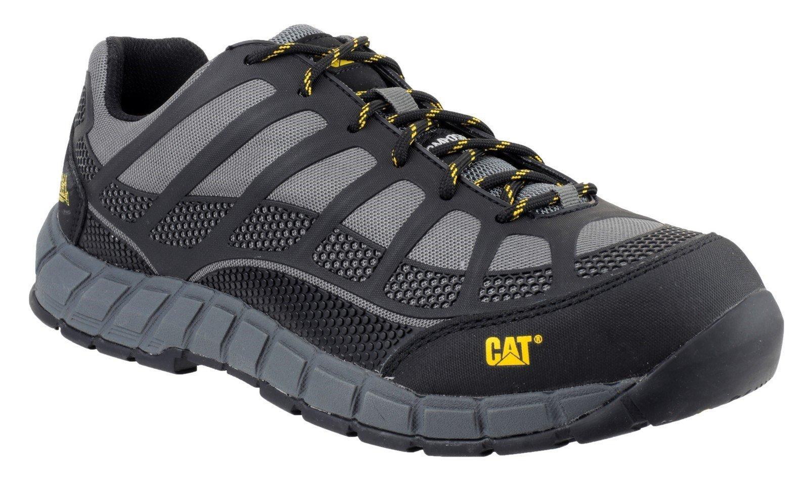 Caterpillar Men's Streamline Safety Shoe Charcoal 21128 - Charcoal 6