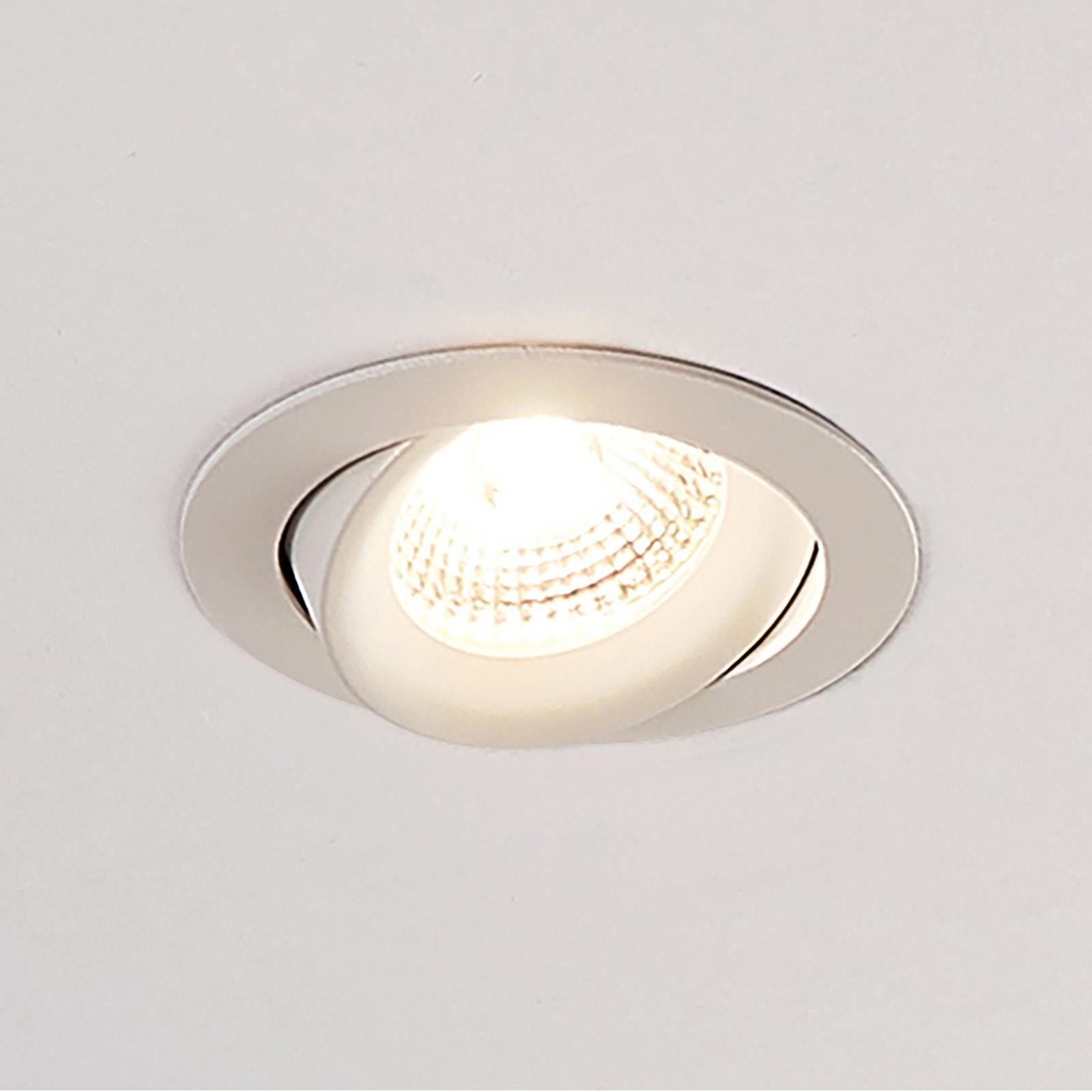 Arcchio Ozias - LED-kohdevalo, valkoinen 7,7 W