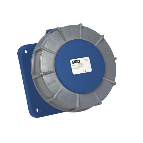 Garo UIV 3125-9 S Paneelin ulostulo IP67, 4-napainen, 125A Sininen, 9 h