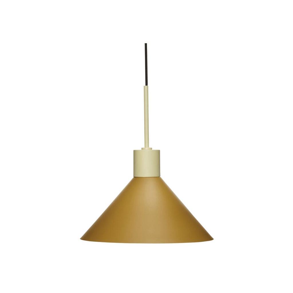 Taklampa metall sand / brun Hubsch