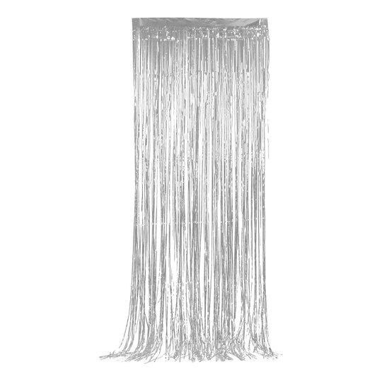 Glitterdraperi - Silver