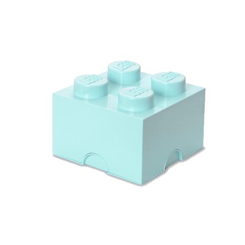 Room Copenhagen - LEGO Storeage Brick 4 - Aqua (40031742)