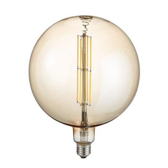 LED-globe-lamppu E27 8W 2700K meripihka