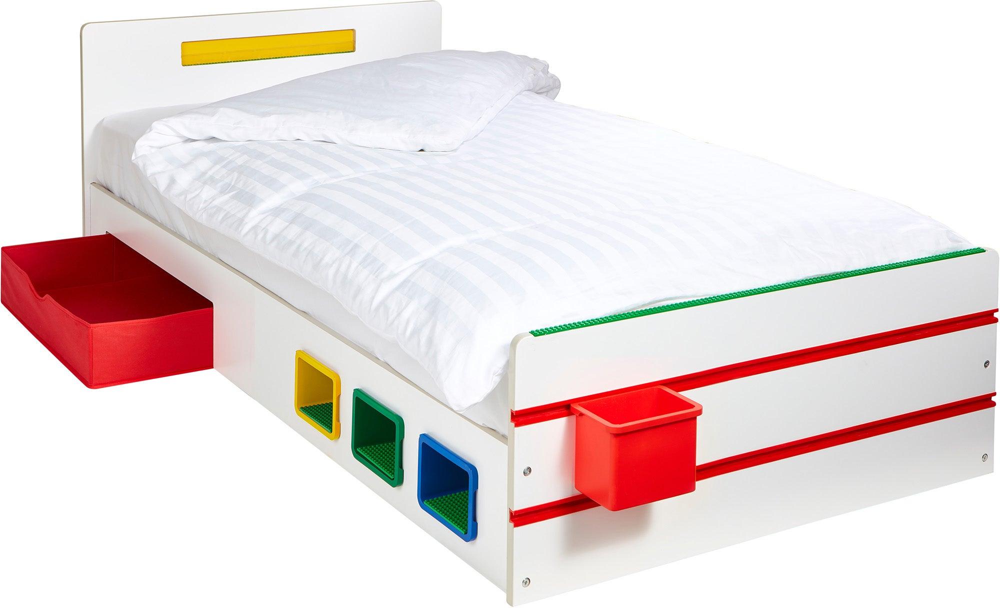 Room 2 Build Juniorisänky Säilytyslaatikolla
