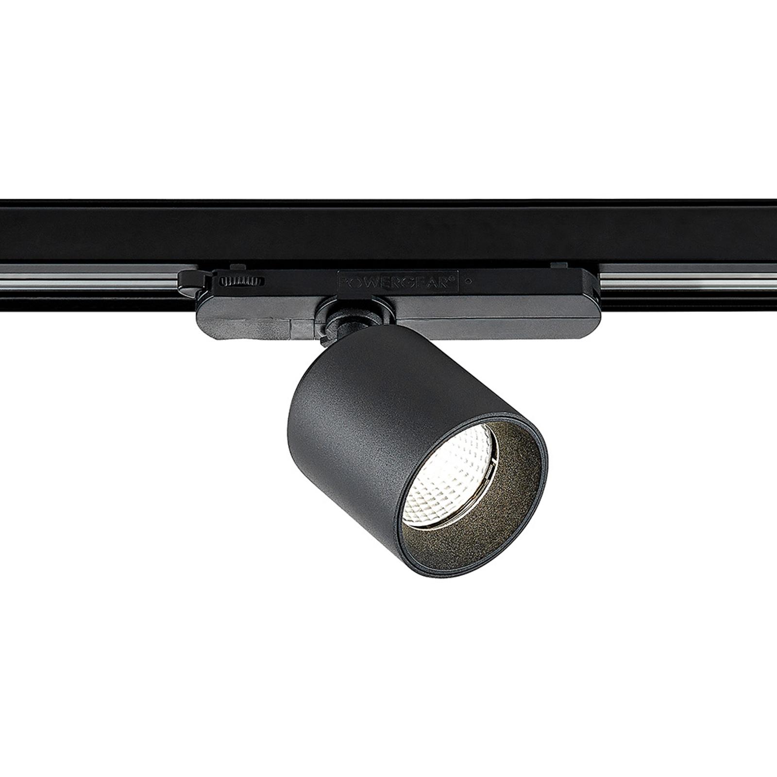Arcchio Candra -LED-kiskospotti musta 17W 4 000 K
