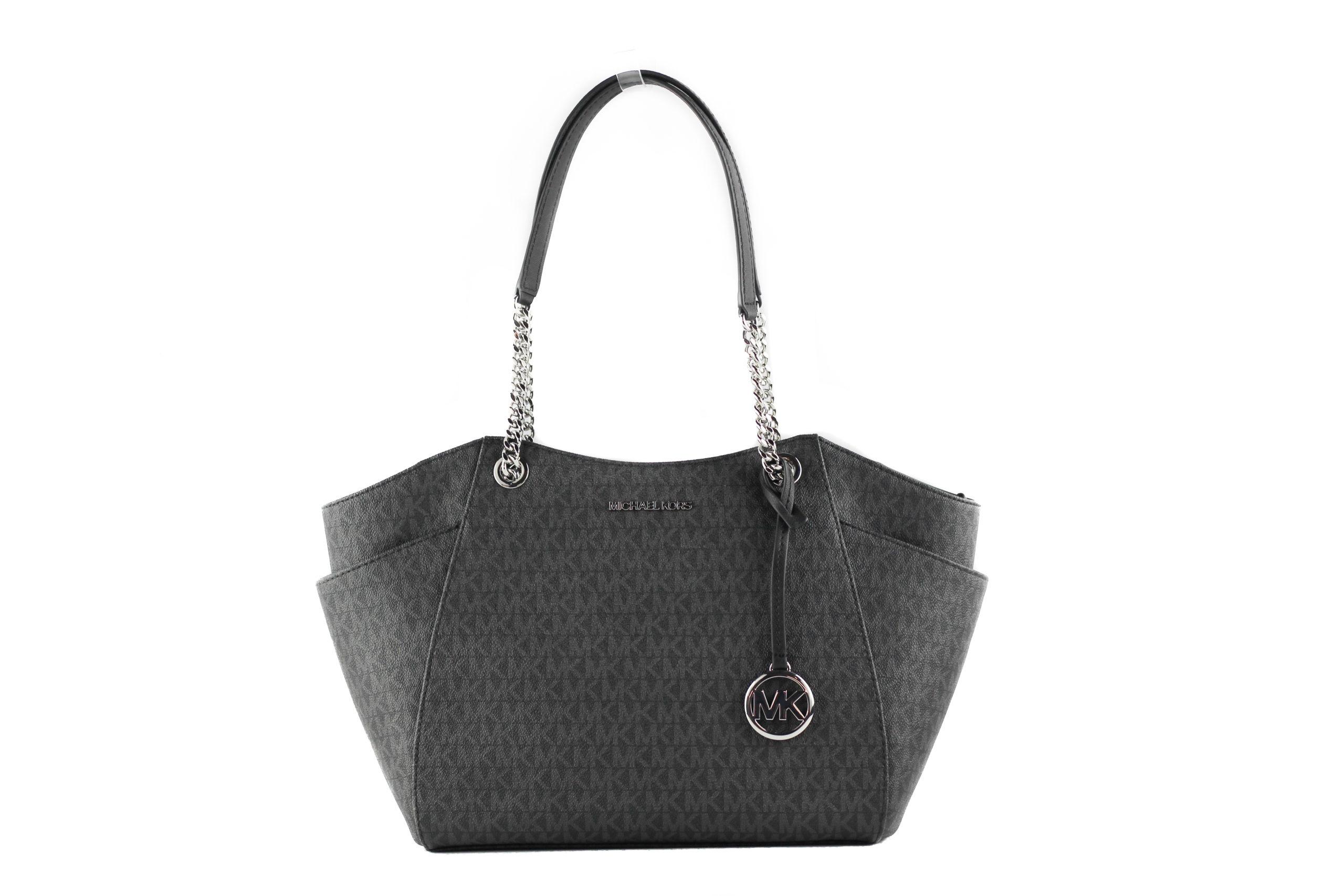 Michael Kors Women's Jet Set Tote Bag Black 39969