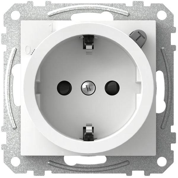 Schneider Electric Exxact WDE002323 Vekkuttak med jordfeilbryter, 1-veis